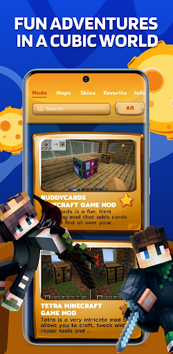 Mods Maps Skins for Minecraft screenshot 5