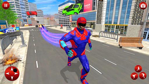Superhero Robot Speed: Super Hero Game screenshot 2