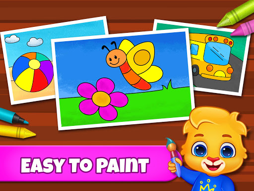 Coloring Games: Coloring Book, Painting, Glow Draw screenshot 8