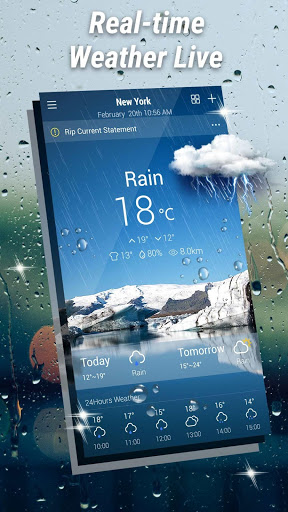 Weather Forecast - Weather Radar & Weather Live screenshot 1