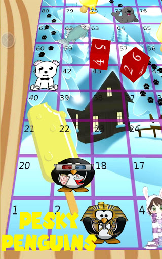 Pesky Penguins, Snakes Ladders screenshot 5