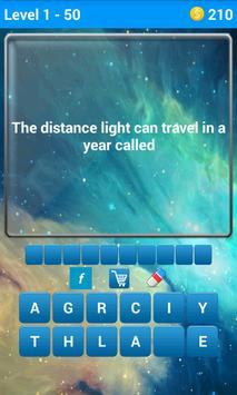 Space Quiz 1 تصوير الشاشة