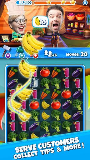 Crazy Kitchen: Match 3 Puzzles screenshot 2