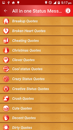 All Status Messages & Quotes screenshot 2