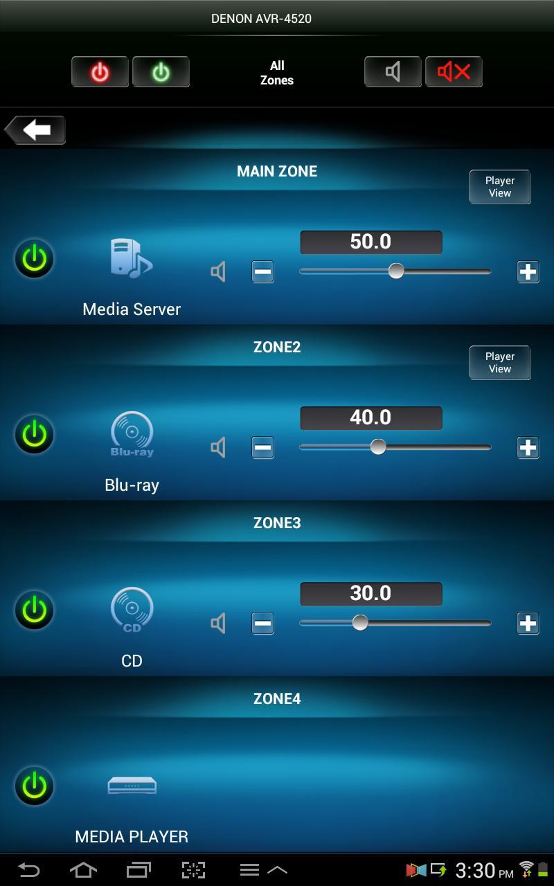 Denon Remote App screenshot 12