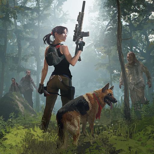 Zombie Hunter: Survive the Undead Horde Apocalypse أيقونة