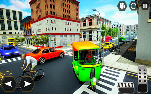 Tuk tuk Chingchi Rickshaw: City Rickshaw driver screenshot 4