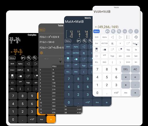 HiEdu Scientific Calculator : He-570 4 تصوير الشاشة