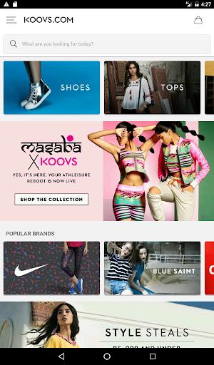 Koovs Online Shopping App скриншот 10