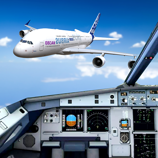 Pilot Flight Simulator 2020: Airplane Flying Games icon