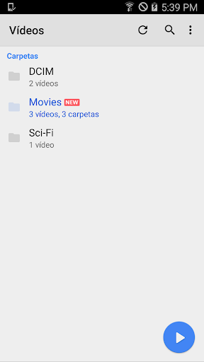 Reproductor MX screenshot 5