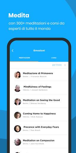 La Mindfulness App - Meditazione per tutti screenshot 3