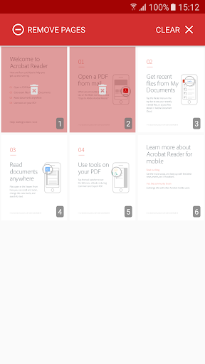 PDF Page Remover 4 تصوير الشاشة