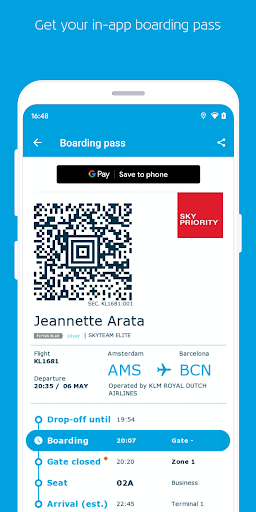 KLM – Book flights and manage your trip screenshot 4