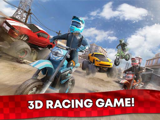 Free Motor Bike Racing - Fast Offroad Driving Game screenshot 17