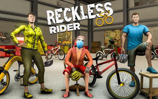Reckless Rider- Extreme Stunts Race Free Game 2020 screenshot 12