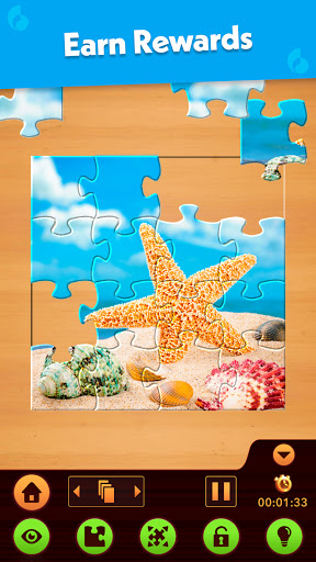 Jigsaw Puzzle: Create Pictures with Wood Pieces 7 تصوير الشاشة