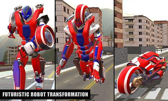 Super Moto Robot Transform 1 تصوير الشاشة