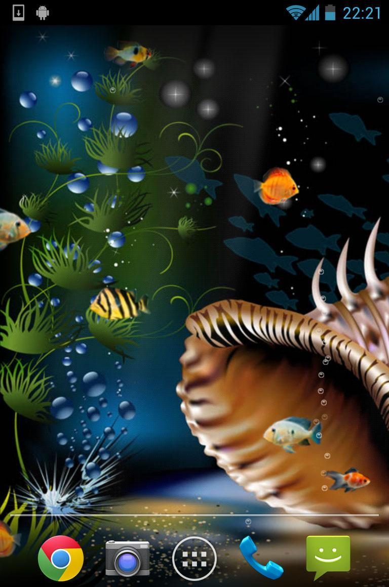 Aquarium Live Wallpaper 5 تصوير الشاشة