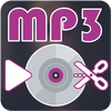 MP3 Cutter Easy Ringtone Maker with Player أيقونة