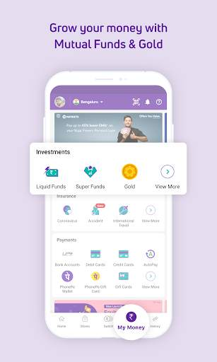 PhonePe – UPI Payments, Recharges & Money Transfer screenshot 4