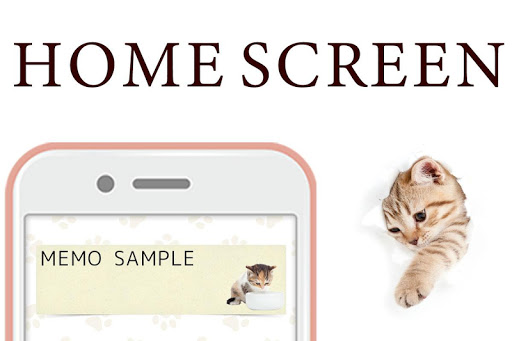 नोटपैड नोट्स : Cat Sticky - बिल्ली screenshot 6
