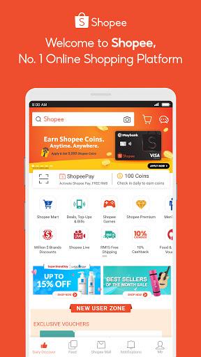 Shopee #1 Online Platform 1 تصوير الشاشة