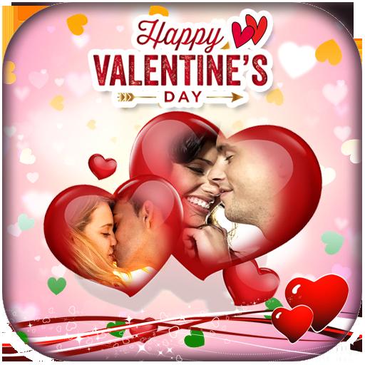 Valentine Photo Frames 2019 أيقونة