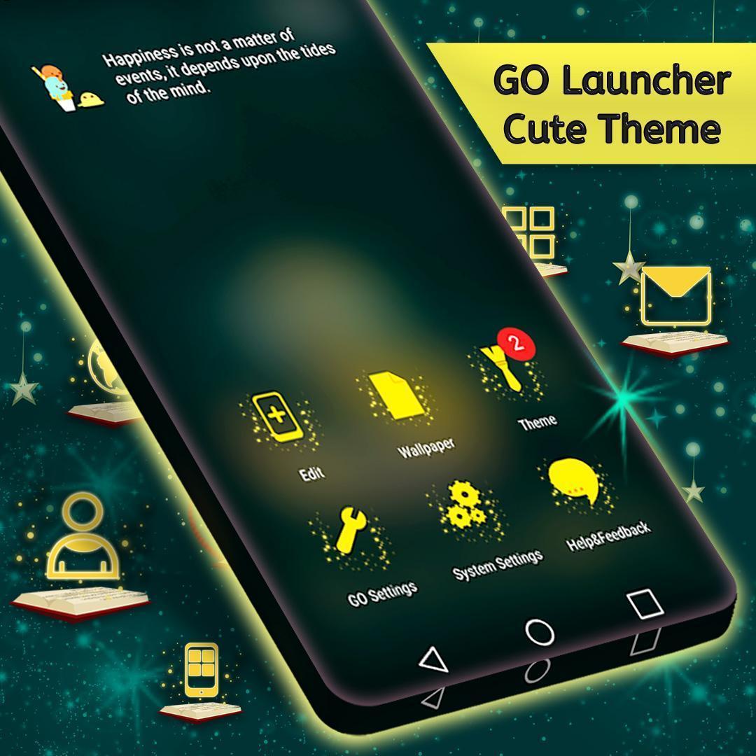 Cute Theme For Launcher 3 تصوير الشاشة