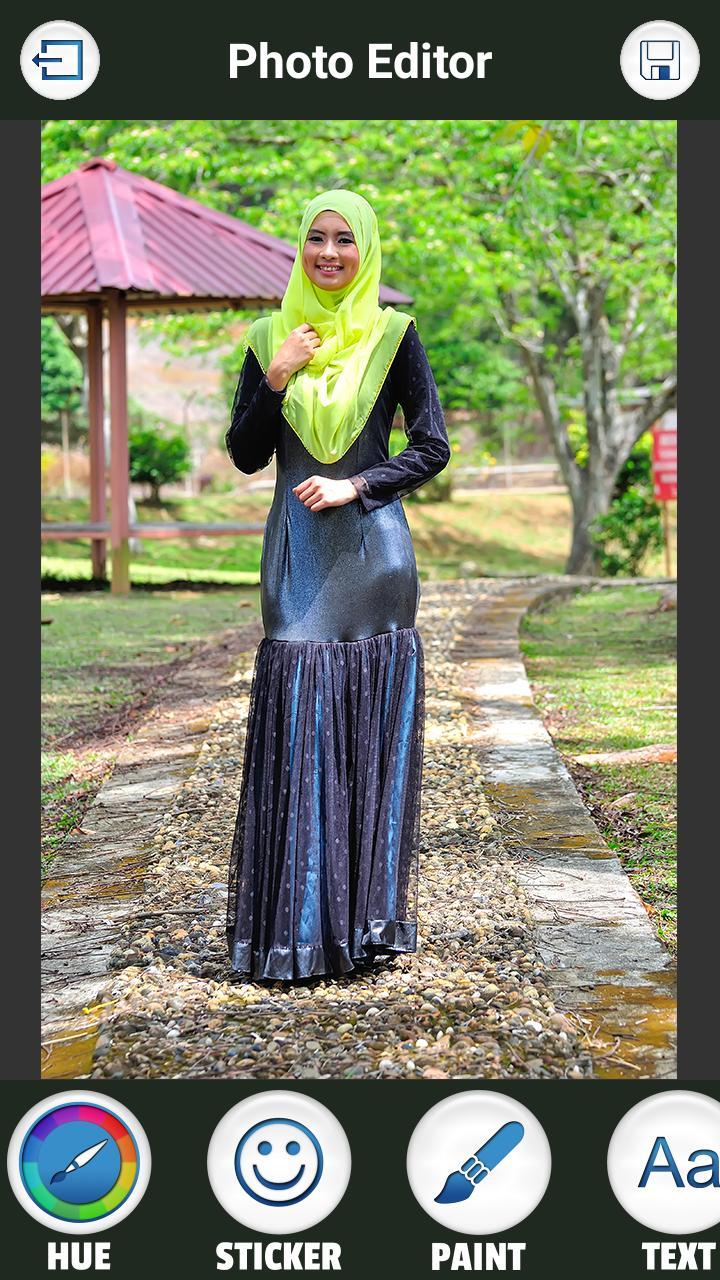 Hijab Fashion Photo Maker - Photo Editor 3 تصوير الشاشة