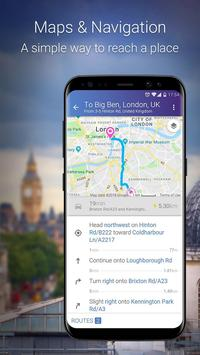 Maps & GPS Navigation: Find your route easily! screenshot 3