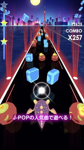 ビートラッシュ!Beat Runner!人気曲音楽リズムゲー screenshot 3