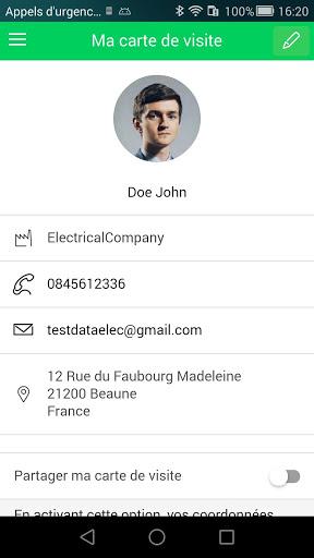 Data ELEC, Scan&Share your switchboard 2 تصوير الشاشة