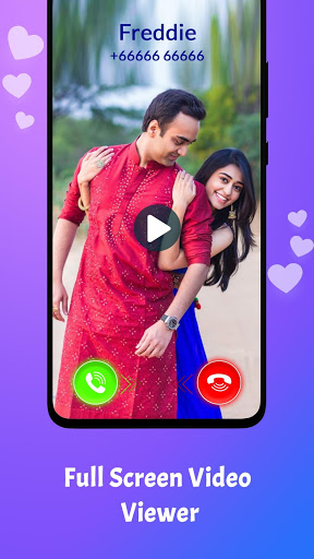 Love Video Ringtone for Incoming Call screenshot 2