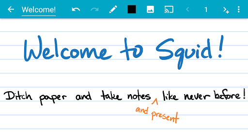 Squid - Take Notes & Markup PDFs screenshot 1