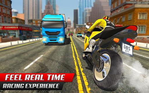 Highway Rider Bike Racing: Crazy Bike Traffic Race screenshot 4