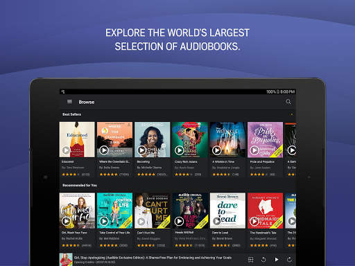 Audible: audiobooks, podcasts & audio stories screenshot 9