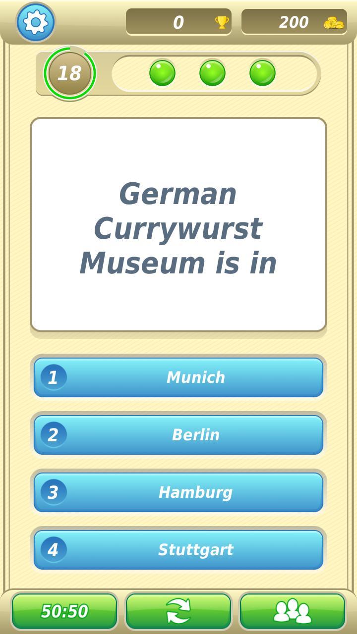 German Trivia Quiz 5 تصوير الشاشة