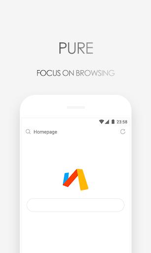 Browser Via – Cepat & Ringan screenshot 1
