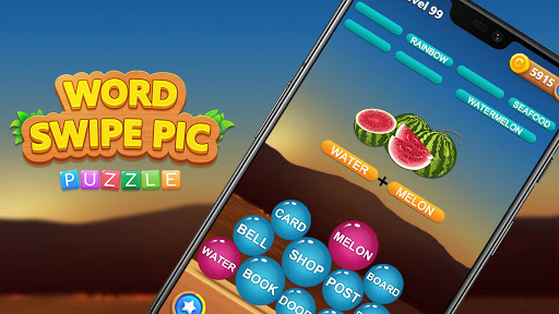 Word Swipe Pic स्क्रीनशॉट 3