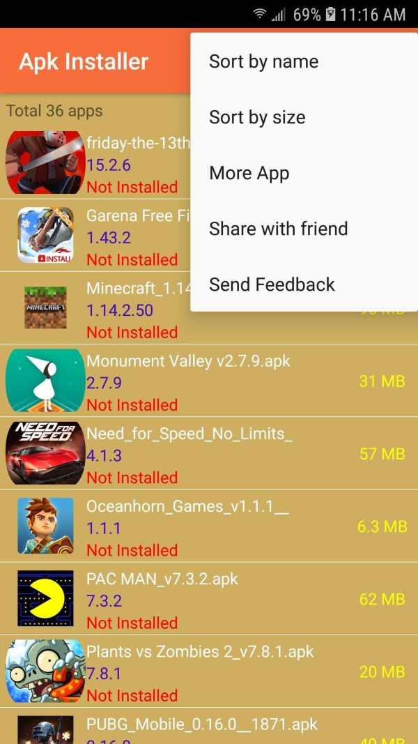 Apk Installer screenshot 12