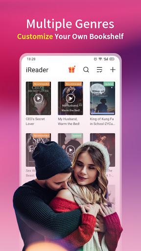 iReader - Novels, Romance Stories 2 تصوير الشاشة
