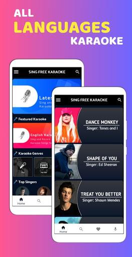 Sing Free Karaoke - Sing & Record All Free Karaoke screenshot 2
