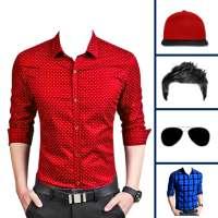 Men formal shirt photo suit on 9Apps