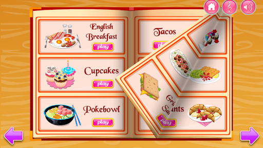 Cooking in the Kitchen - Baking games for girls screenshot 3