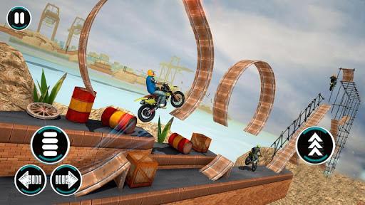 Bike Driving Games: Bike Stunt Games screenshot 2