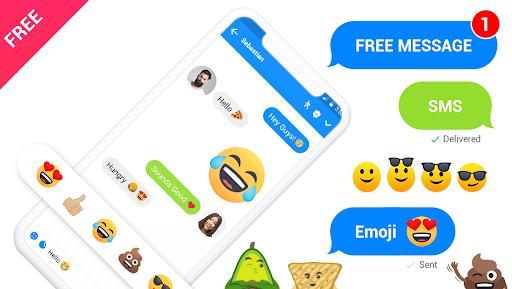 Messenger - Messages, Texting, Free Messenger SMS 15 تصوير الشاشة