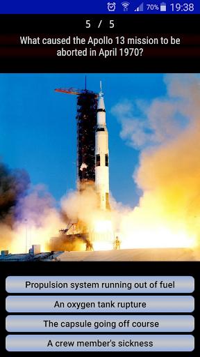 Astronautic Quiz 5 تصوير الشاشة