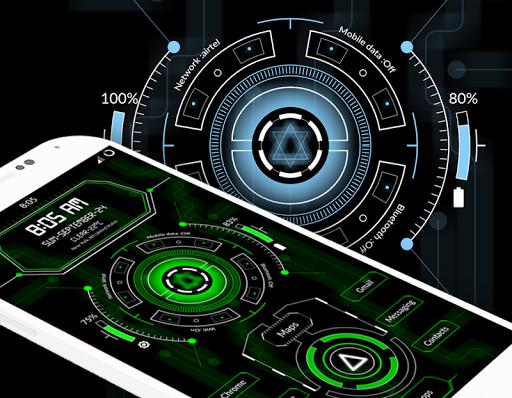 Circuit Launcher 2 - Next Generation Theme 2020 screenshot 2