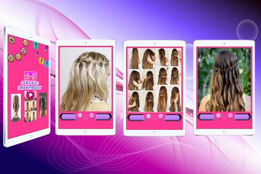 Hairstyles (Step by Step) screenshot 7